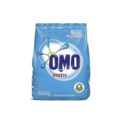 Detergente en Polvo Matic 800grs. Omo