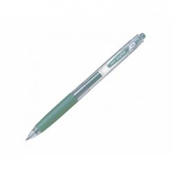 Lápiz gel 0.7 mm Poplol verde metalico Pilot