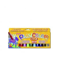 Tempera solida Playcolor 12 colores Instant