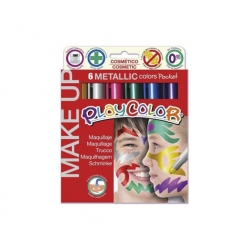 Tempera Maquillaje Playcolor Metalizado Instant