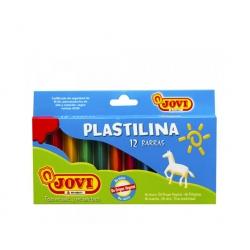 Plasticina 12 colores Jovi