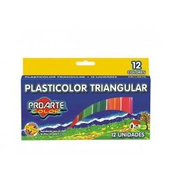Plasticina 12 Colores Proarte