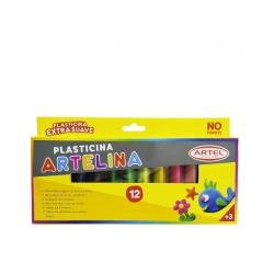Plasticina Artelina 12 colores Artel