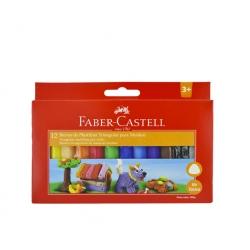 Plasticina 12 colores Faber Castell