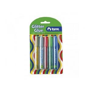 Blister Glitter Glue Brillantina Torre