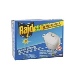 Insecticida eléctrico para 45 noches Raid
