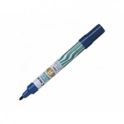 Marcador Permanente Recargable SCA punta fina redonda azul Pilot