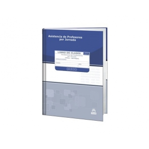 Libros de Asistencia Profesores P/Jornada 355511 Buho