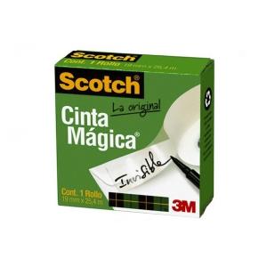Cinta adh. Magica (810) 19mmx25mts. Scoth 3M