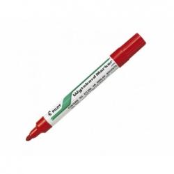 Marcador Pizarra metalico WBMATM recargable P/Redonda rojo Pilot