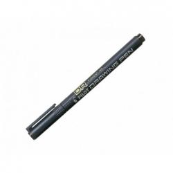 Tiralinea Desechable Permanente 0.5mm negro Pilot