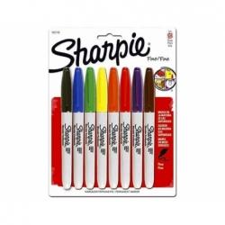 Marcadores Set 8 Colores Clásicos Sharpie