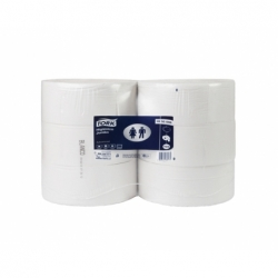 Papel Higiénico Jumbo 600mts x 6 unidades Tork